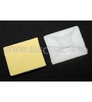 Suport Adeziv Pentru Colier 40X40mm 100 buc/ set