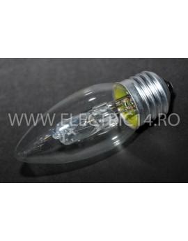 Bec Eco Clasic Halogen E27 Lumanare 28W Set 10 bucati