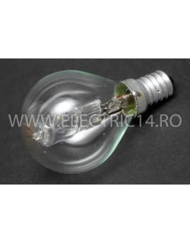 Bec Eco Clasic Halogen E14 Sferic 28W Set 10 bucati