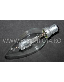 Bec Eco Clasic Halogen E14 Lumanare 28W Set 10 bucati