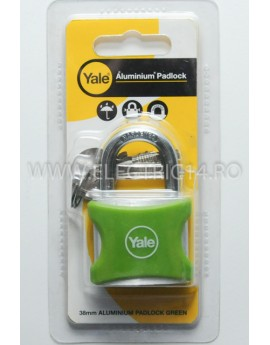 Lacat Aluminiu YE3-38-119-1 Verde