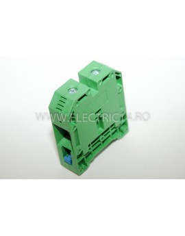 Regleta Sina DIN-MRK 70 mm Verde