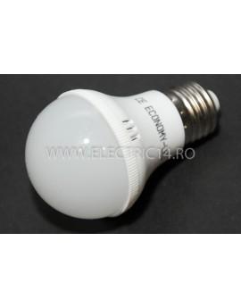 Bec led E27 5w SMD A60 Lumina rece Economy