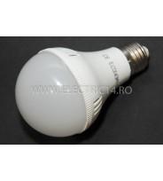 Bec led E27 9w SMD A80 Lumina rece Economy