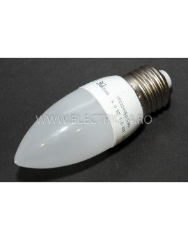 Bec Led E27 3w SMD Lumanare C35 Lumina Rece