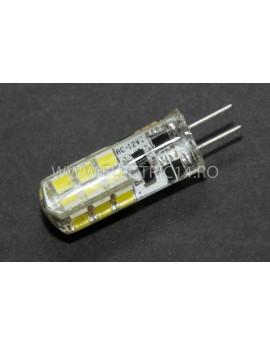 Bec led G4 12v 3w SMD Lumina Rece