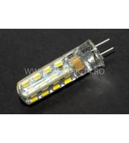 Bec led G4 220v 3w SMD Lumina Calda