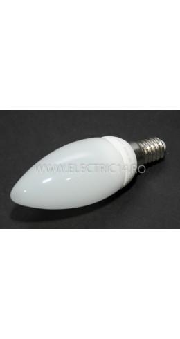 Bec Led E14 3w  Lumanare Ceramic Lumina Rece Klass