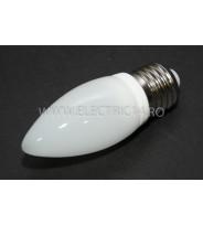 Bec Led E27 3w  Lumanare Ceramic Lumina Rece Klass