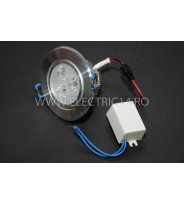 Spot Led Power 3w Lumina Rece