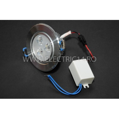 Spot Led Power 3w Lumina Calda