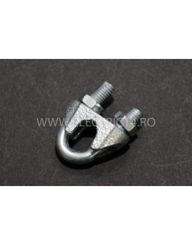 Bride Cablu Tractiune Otel 6mm Set-50bucati