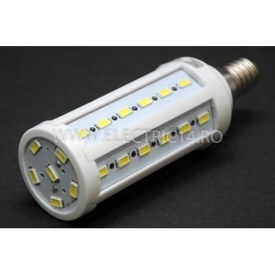 Bec Led E14 7w SMD 5730 Lumina Rece