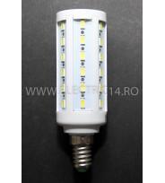Bec Led E27 7w SMD 5730 Lumina Rece