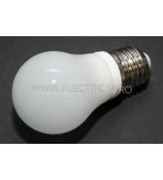 Bec led E27 5w Ceramic  Lumina Rece Klass