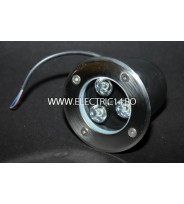 Spot Led Pavaj 3w 100mm Lumina Rece IP65 LH-D 301 (int.94mm)