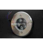 Spot Led Pavaj 5w 120mm Lumina Rece IP65 LH-D 501 (int.95mm)