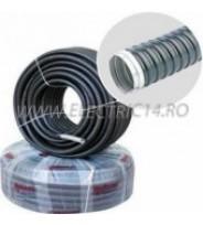 Copex metalic cu izolatie de pvc 21 mm, rola-25 ml
