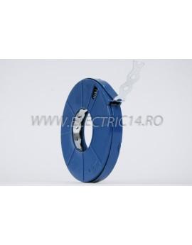 Banda Metalica perforata 17x0.6 mm 10 ml