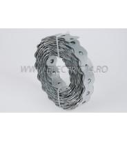 Banda Metalica perforata 26x0.8 mm 10 ml