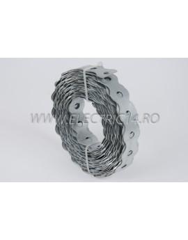 Banda Metalica perforata 26x1 mm 10 ml