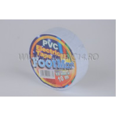 Banda izolatoare Footmark 10 ml alb Set-10 bucati