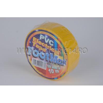 Banda izolatoare Footmark 10 ml galben Set-10 bucati