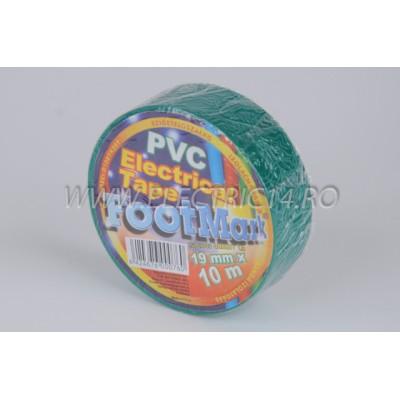 Banda izolatoare Footmark 10 ml verde Set-10 bucati