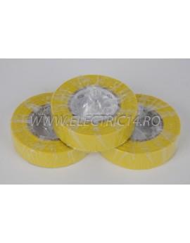 Banda izolatoare Klass 20 ml galben Set-10 bucati