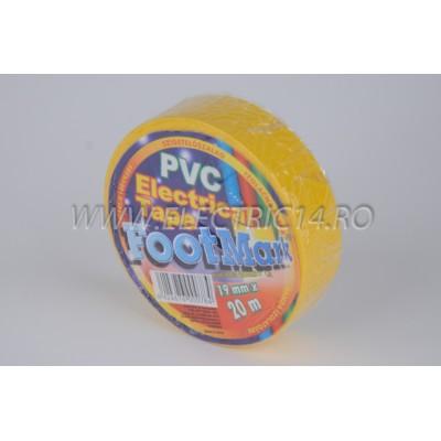 Banda izolatoare Footmark 20 ml galben Set-10 bucati