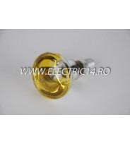 Bec Clasic E14 R50 Galben set 10 bucati