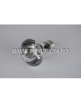 Bec Clasic E27 R63 60W set 10 bucati