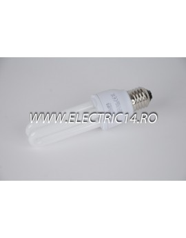 Bec economic E27 11w 2U lumina rece Philips