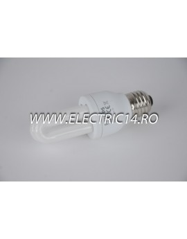 Bec economic E27 6w 2U lumina calda Philips