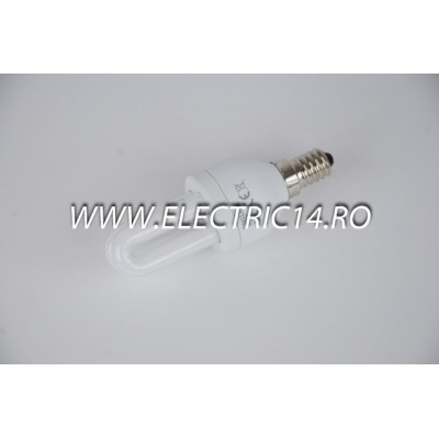 Bec economic E14 5w 2U genie lumina rece Philips