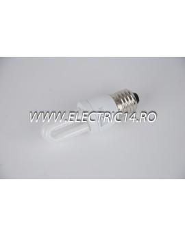 Bec economic E27 5w 2U genie lumina rece Philips BECURI ECONOMICE
