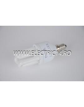 Bec economic E14 8w 3U  lumina rece Philips