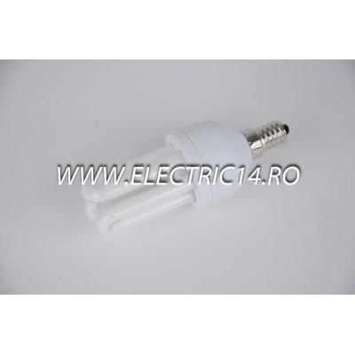 Bec economic E14 11w 3U geine lumina calda Philips