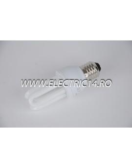 Bec economic E27 11w 3U genie lumina rece Philips