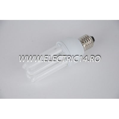 Bec economic E27 18w 3U genie lumina calda Philips