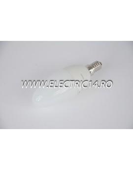 Bec economic E14 8w lumanare lumina calda Philips