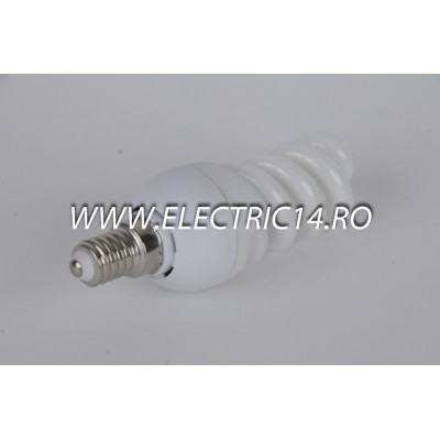 Bec economic E14 15w spirala lumina calda Moon