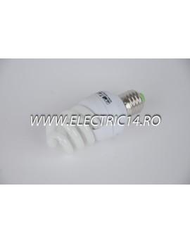 Bec economic E27 15w spirala 5002 lumina rece TG