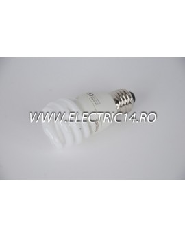 Bec economic E27 15w spirala lumina calda Philips