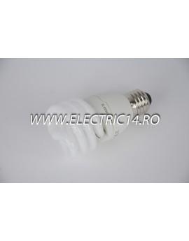 Bec economic E27 20w spirala lumina calda Philips