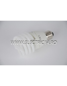 Bec economic E27 23w spirala lumina calda Philips