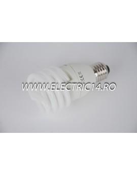 Bec economic E27 23w spirala lumina calda Philips