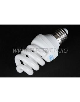 Bec economic E27 15w spirala lumina rece Office