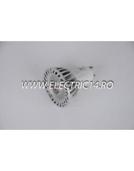 Bec led GU10 1w POWER Lumina Rece