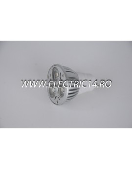 Bec led MR16 3w POWER Lumina Calda